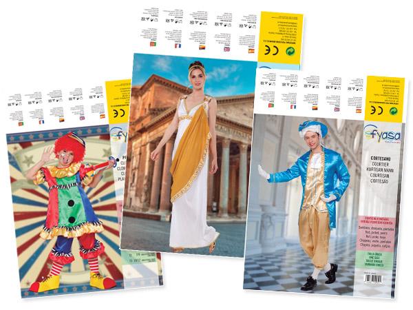 Eurodisfraces, catálogo de disfraces y complementos  2014-15