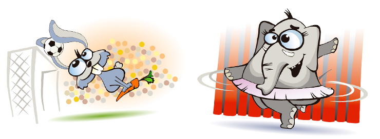 Ilustraciones para la campaña de la Tarjeta SÍ de EuroCarnavales