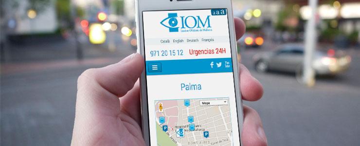 Consulta de web mobile en la calle