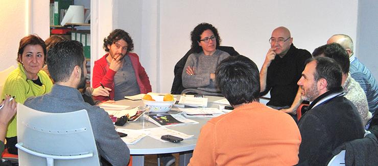 reunion equipo campaña MÉS