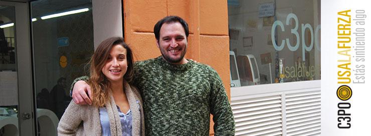 Claudia y Germán