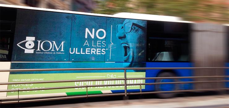 No a les ulleres, campaña para el Institut Oftàlmic de Mallorca
